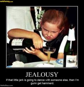 Jealousy hammered