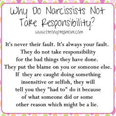 narcissist enemy