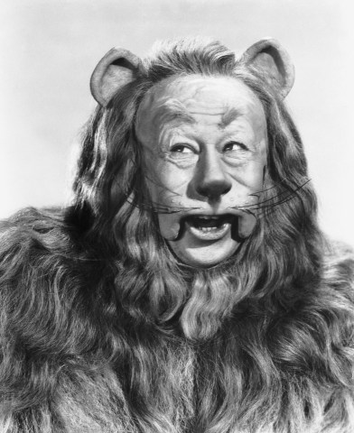 Bert Lahr as Cowardly Lion from Oz