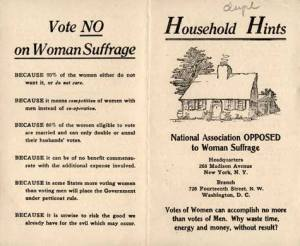 Women and voting