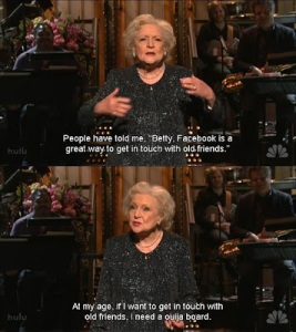 Betty White FB