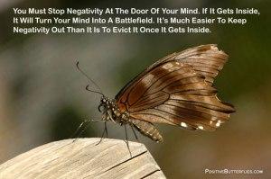 negativity butterfly