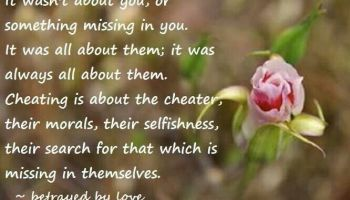 Cheating on a narcissist it isn't just about ...