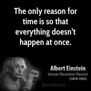 Time Einstein