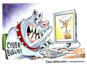 cyber bully dog