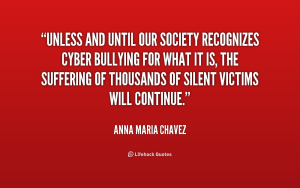 cyber bully quote