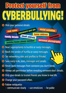 Protect from cyberbullying