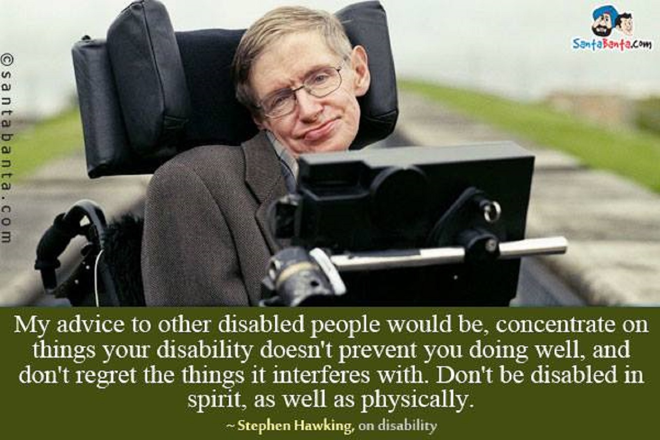 Quotes About Disabilities Disabled  Galesmind