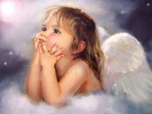 angel pondering