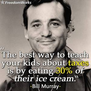 bill murray taxes