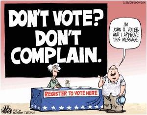 dont vote don't complain