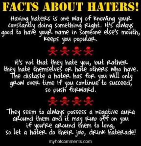 haters posts
