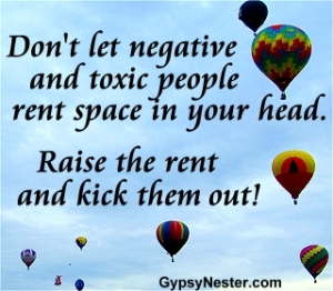 negative people rent free