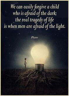 Plato afraid of the dare