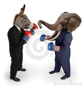 Politics and fighting