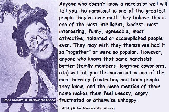 The Charming Narcissist | galesmind