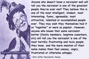 Stop the Narcissist