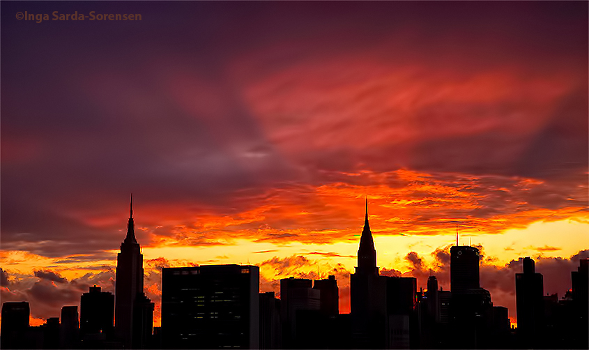 TP Earth Day sunset NYC 1 4 22 15