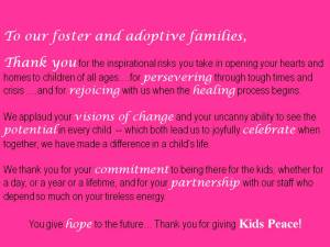 foster parents thank you