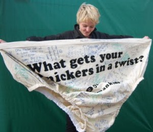 knickers in a twist