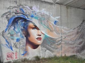 Telmo miel in Italy street art