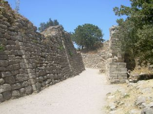 Walls of Troy excavation*