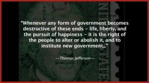 Jefferson abolish government
