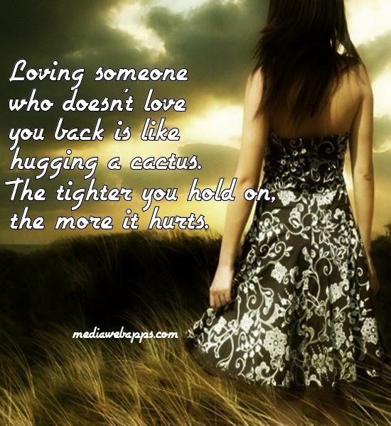 Quotes About Loving Someone Who Doesn T Love You Back Enchanting Doesn't Love You  Galesmind