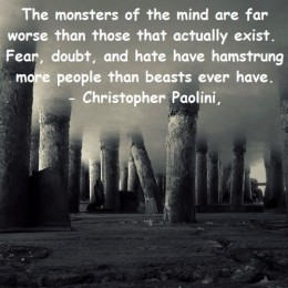monsters of your own mind