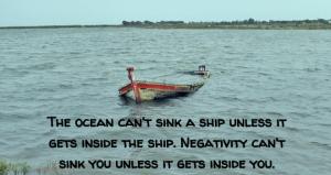 negativity ship