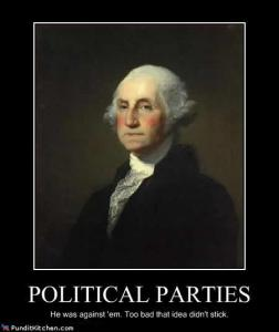 Political parties Washington