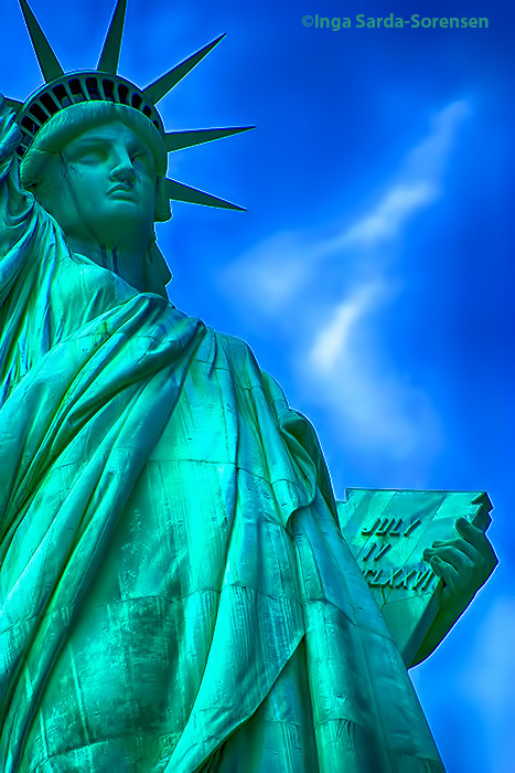 TP Statue of Liberty blue green 130th anniversary NYC 6 17 15