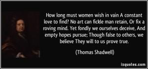 Women wish