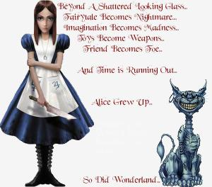 alice grew up