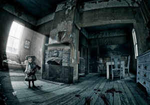 Ghost of a murderess doll