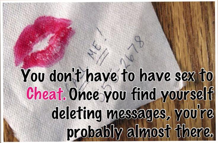 Sexting cheating
