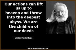 children of our deeds