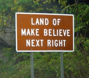 Land-of-make-believe-sign
